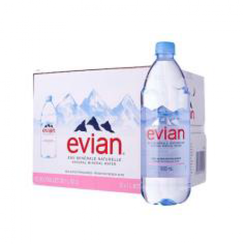 32-MINERAL WATER NATURAL STILL PET (EVIAN) (法国矿泉水)
