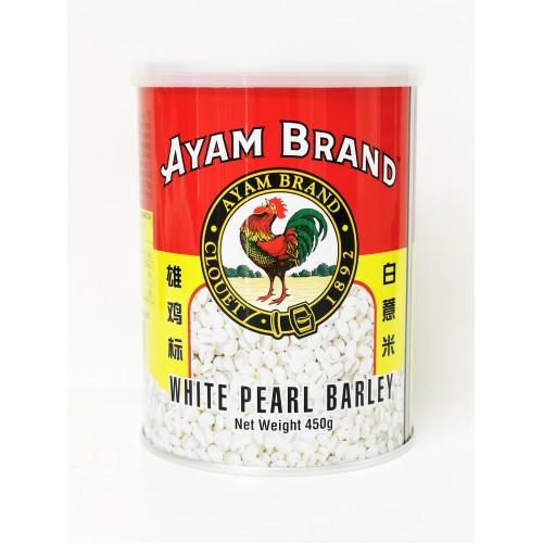 15-洋薏米 / 鸡标 BARLEY PEARL WHITE AYAM / JENAME AYAM BARLI