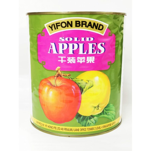 4-APPLE SOLID PACKED FRUIT YIFON(干装苹果)