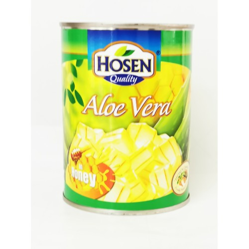 4-ALOE VERA CUBE IN HONEY HOSEN FRUIT (蜂蜜芦荟)