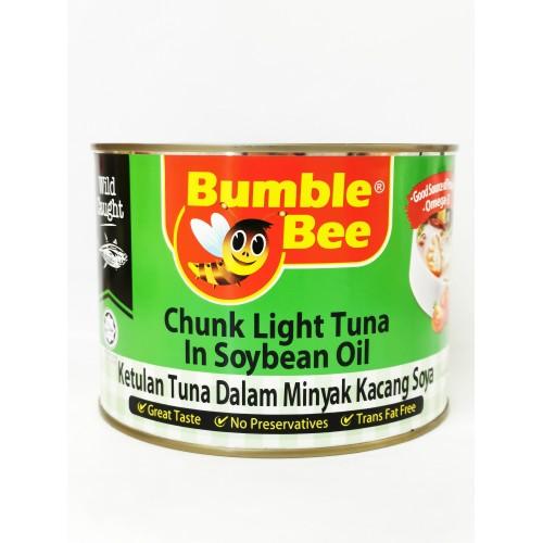 6-TUNA CHUNK LIGHT IN SOY BEAN OIL BUMBLE BEE (金枪鱼肉)