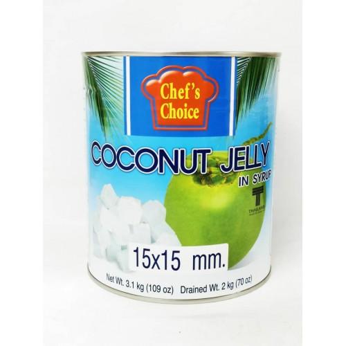 4-COCONUT JELLY FRUIT / NATA DE COCO IN SYRUP / JELI KELAPA DALAM TIN (椰子果冻)
