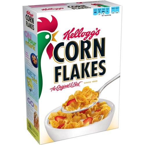 8-CORN FLAKES KELLOGG'S CEREAL / EMPINGAN JAGUNG (玉米片)