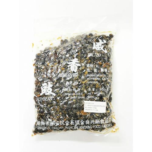 1-豆鼓-咸香 SOY BEANS BLACK WITH OIL PRESERVED 3A