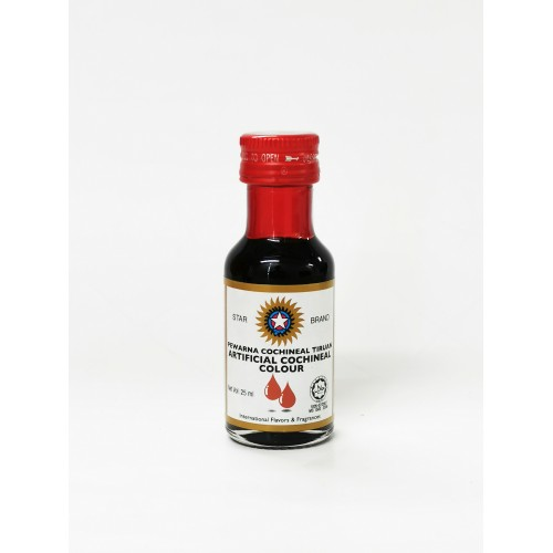 13-COCHINEAL RED FOOD COLOR LIQUID STAR (红色素)