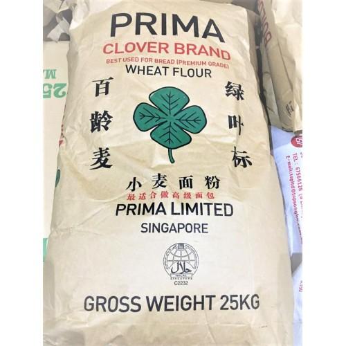 17-BREAD FLOUR CLOVER PRIMA / TEPUNG ROTI (百龄绿叶面粉)
