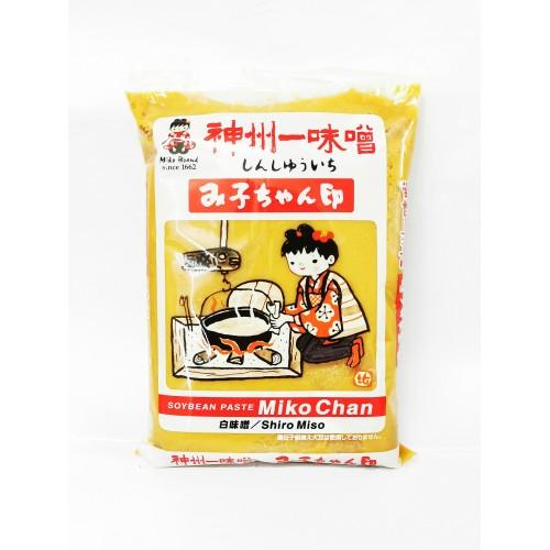 19-MISO WHITE MIKO CHAN (味噌)