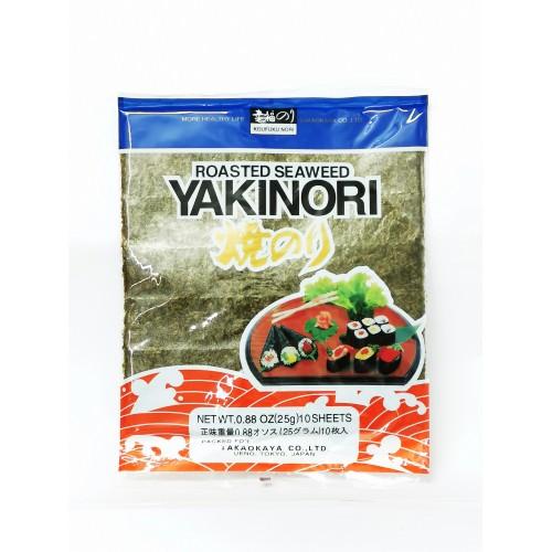 19-SEAWEED ROASTED  / YAKI NORI / RUMPUT LAUT PANGGANG SUSHI (寿司紫菜)