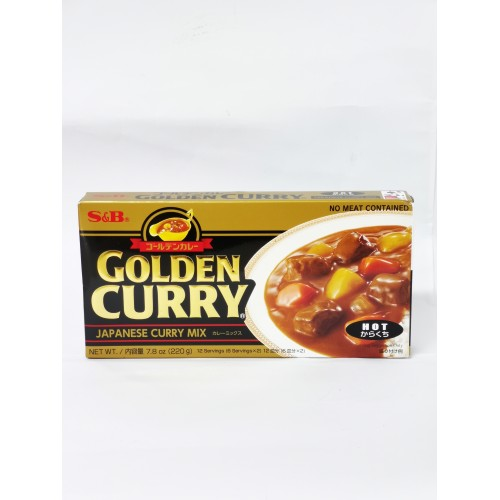 19-GOLDEN CURRY PASTE MIX S&B (日本咖喱)