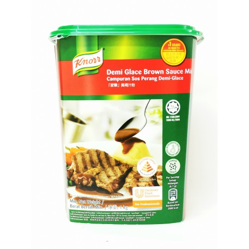 24-BROWN SAUCE MIX DEMI-GLACE KNORR (家乐褐色混合料)