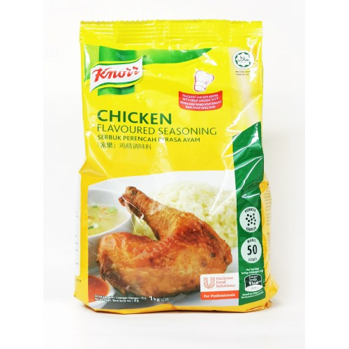 24-CHICKEN FLAVORED SEASONING POWDER  KNORR FOIL PACK /  SERBUK PERASA AYAM (家乐包装鸡精粉)