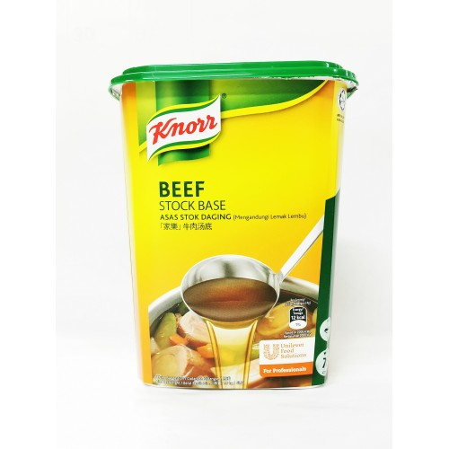 24-BEEF STOCK BASE POWDER KNORR  / SERBUK PERASA DAGING LEMBU (家乐牛肉汤底)