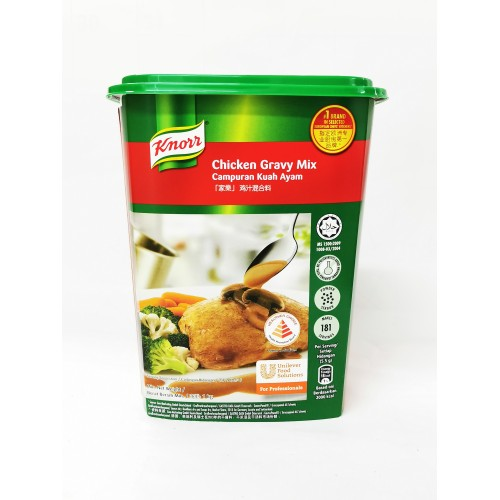 24-CHICKEN GRAVY MIX POWDER KNORR (家乐鸡汁混合料)