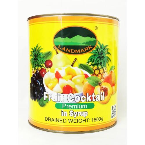 4-FRUIT COCKTAILS PREMIUM IN SYRUP LANDMARK (3KG) (地标顶级糖水杂果)