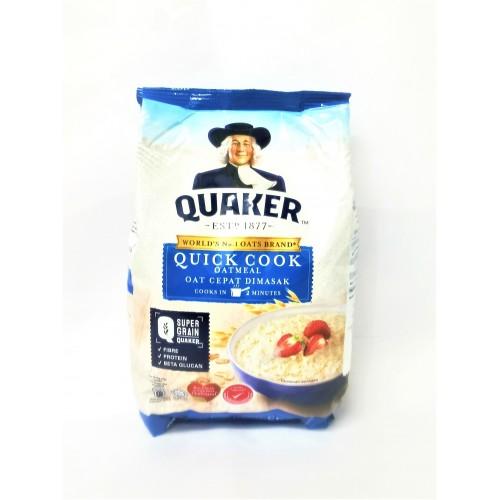 8-燕麦 / 老人牌均整 OATMEAL QUICK COOK-BLUE REFILL PACK QUAKER CEREAL / OAT CEPAT DIMASAK