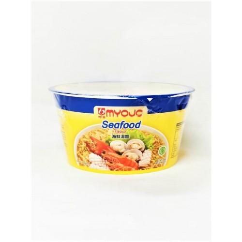 20-NOODLES INSTANT BOWL SEAFOOD MYOJO (海鲜碗面)