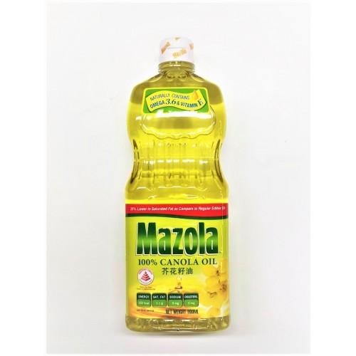 21-CANOLA OIL 100% MAZOLA (万寿牌芥花籽油)