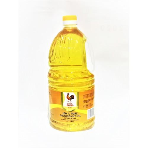 21-花生油 / 鸡标 GROUNDNUT OIL 100% PURE COCK / MINYAK KACANG
