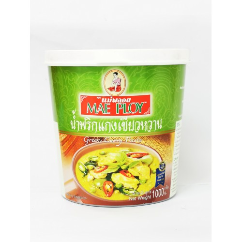 39-GREEN CURRY PASTE THAI MAE PLOY / PES KARI HIJAU SIAM (泰式青咖喱膏)