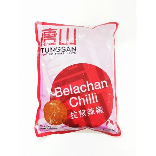 39-BELACHAN CHILI PASTE INSTANT TUNGSAN / PES BELACHAN CILI SEGERA (峇辣煎辣椒酱)